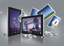 New model China factory Custom 26 inch wall mounted led advertising player,led andriod display screen
