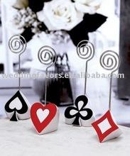Poker Theme Place Card Holder Assortment