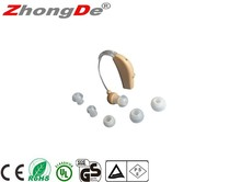 Hearing device ear sound amplifier hearing aid for hearing impaired