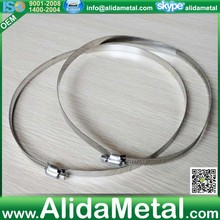 British Stainless steel 316# kinds of pipe clamps