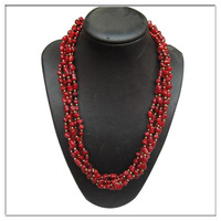 new beautiful original red coral necklace designs