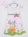 crianças vestido de verão, bebê vestido de renda menina, crianças vestido bordado