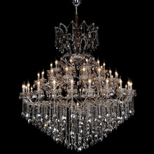 Large Crystal Gold Chandelier Pendant Lamp for Hotel Lobby