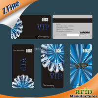 Printing VIP PVC ID card design sample with chip
