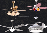 decorative ceiling fans with lights 30/42/48/52/56 inch