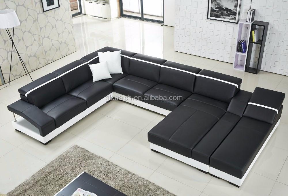 2015 new sofa design modern leather sofa buy modern sofa - Sofas italianos modernos ...