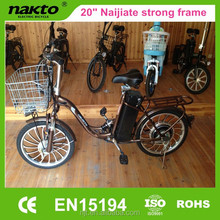 2015 new adult electric bicycle with strong dc motor