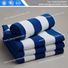 high quality blue and white striped beach towel wholesale