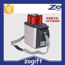 ZOGIFT 6L portable mini refrigerator 12V for car