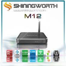 Amlogic S805 OTT TV BOX HD Sex Pron Video TV BOX Kodi 14.2 Live Streaming OTA 2015 MXQ M12 Quad Core Android Smart TV BOX