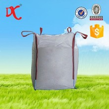 PP plastic woven rectangular 1 ton big bag for sand/cement/chemicals