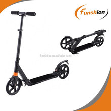 High quality aluminum adult kick scooter,200mm wheel scooter,big wheel push scooter