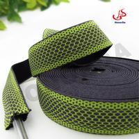 3CM green tube webbing soft nylon tube webbing strap