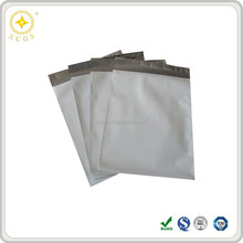 White custom poly mailer envelope bag for hard drive packaging