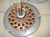copper and alumimun electric motor for ceiling fan