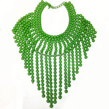 2014 Newest Fashion design best quality fast delivery Women Girls Necklace metal flowers for crafts