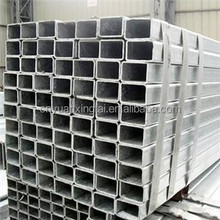 Hot sale products Galvanized rectangular steel tube and pipe China supplier