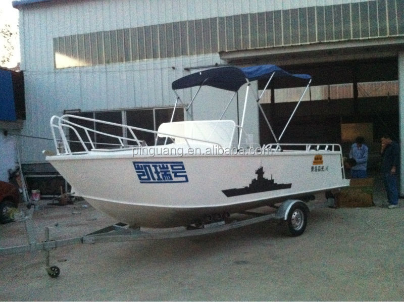 20ft aluminum used cheap fishing boat for sale buy for Used fishing boat