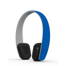 Multi colors Bluetooth Headphone with audio line in 10m wireless range A2DP1. 2/ AVRCP1. 4/ HSP1. 2 /HFP1. 6/CVC6.0