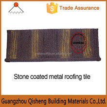 2015 Durable Low Life Cycle Costs Design Wood Type Zinc-aluminium Roof Tile for Villa in Guangzhou