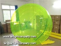 colored inflatable water ball/2 meters water spheres/bubble water zorb