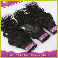 Full cuticle 7A grade100% virgin wholesale brazilian hair weave bundles free shipping14/16/18