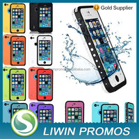 Newest waterproof shockproof dirt snow proof durable case cover for Iphone