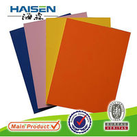 orange yellow pink blue and green colour melamine laminated particle board