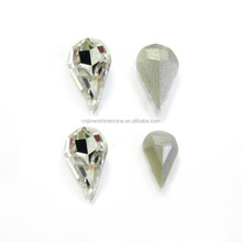 2015 new more facets hotfix stones flat back hot fix rhinestone with strong glue for iron on heat transfer