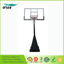 Wholesale screw jack lift adjustment mechnism deluxe portable 10' basketball stand