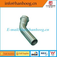 Factory Direct Sales Reliable Quality 304 stainless steel sanitary elbow 45 E/B DN 65
