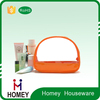 Round clear pvc cosmetic bag with handle,transparent pvc cosmetic bags ,clear plastic cosmetic bags pvc case