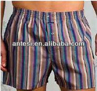 100% cotton men's woven boxers