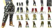 VTG HIPPIE BOHO oriental harem sarouel pants thai mhong pattern pants