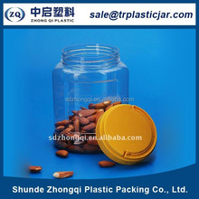 Famous bottle supplies 1200ml plastic nuts storage bottle from alibaba website