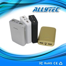 OEM and ODM 2015 best quality rohs dual outports power bank 7500mah for smartphone
