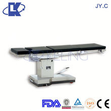 Cheapest !!! c arm compatible operating table radiolucent operating table