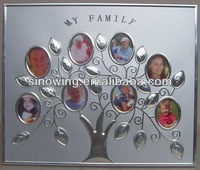popular aluminum family tree collage photo frame