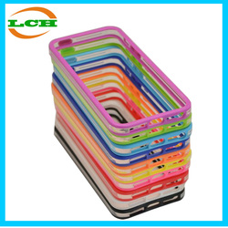 Cut Off cover hotselling silicone Bumper Case for iPhone 5 / 5s