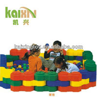 KAIXING Hotsale Soft ball pool with colorful balls for babies