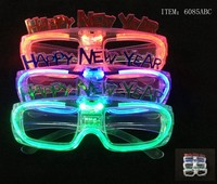 Custom party flashing sunglasses,Foot shaped flash sunglasses