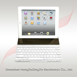 New design Solor panels Bluetooth keyboards for apple style ipad 2/3/4