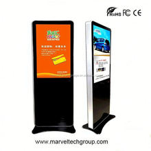Stand alone indoor wireless wifi digital signage double sides