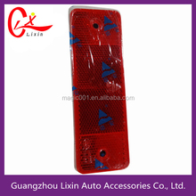 Auto parts road safety signs glow in dark good vision at night truck body safety warning board
