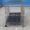 Popular sales design large steel dog cage for cheap sale