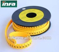 cable marker plate / cable marker strips/wire marker strip