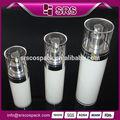 Recipientes de plástico vacíos de crema de lujo cosméticos , botellas de plástico de 100ml 50ml 30ml al por mayor