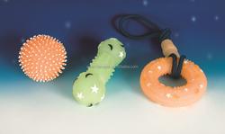 New! light up dog toys/glow pet toys/ glow in the dark vinyl