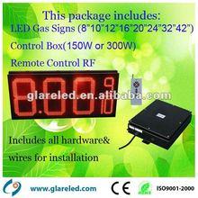 outdoor LED gas price 7segment display