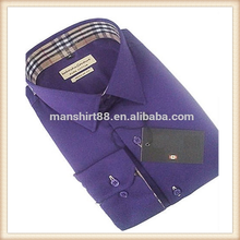 Newest design Marvelous Custom Satin Mens casual fitted dress shirts